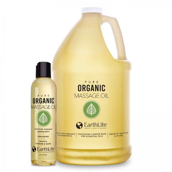 EARTHLITE Bio Massageöl   geruchsfrei - in 2 Größen erhältlich