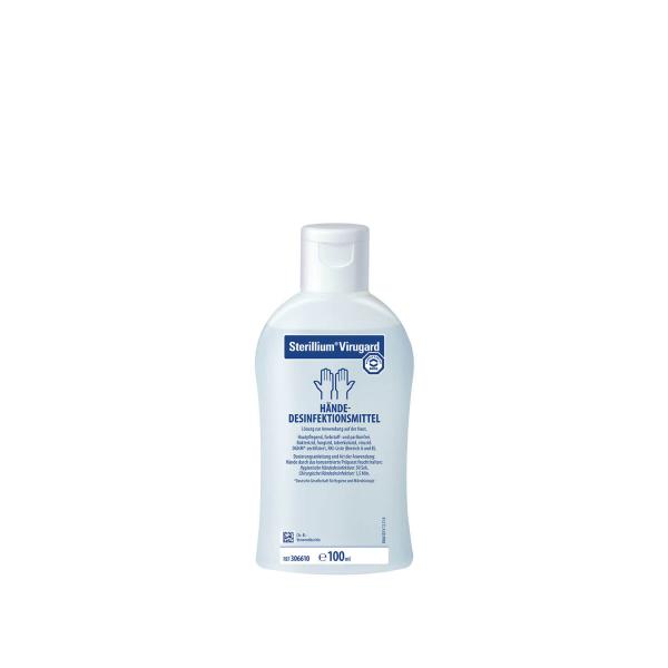 Hände Desinfektionsmittel Sterilium virugard - Vorratsgröße | Karton mit 45 Flaschen à 100 ml